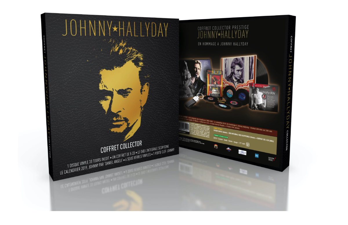 coffret prestige Johnny Hallyday